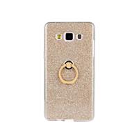 Na Samsung Galaxy Etui Odporne na wstrząsy / Z podpórką Kılıf Etui na tył Kılıf Brokat Miękkie TPU Samsung A8 / A7 / A5 / A3