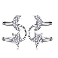 Dame Stangøreringe Mode Perle Legering Cirkelformet Stjerneformet Smykker Til Fest Daglig