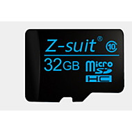 tf vehículo que viaja tarjeta de memoria registrador de datos de z-traje de 32gb class10 de 48MB / s