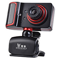 USB 2.0ウェブカメラ1.3メートルのCMOS黒/赤の1280 * 960 45fps