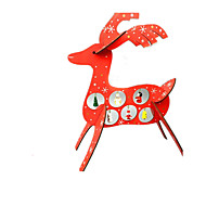 Creative Christmas Gifts Christmas Deer 38Cm Wooden Deer Ornaments Christmas Ornament Wooden Crafts