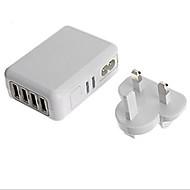 Chargeur Secteur Pour iPad Pour Téléphone Pour Tablette Pour iPhone 4 Ports USB Prise EU Prise GB Prise US Prise AU Blanc