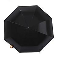 자외선 분명 우산 루프 패션 절묘한 검은 우산 그늘 우산
