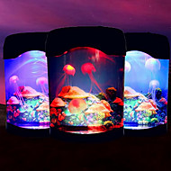 Electronic Jellyfish Aquarium Lights Creative USB Desktop Aquarium LED Nightlight