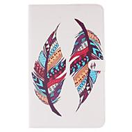 Na Samsung Galaxy Etui Etui na karty / Portfel / Z podpórką / Flip / Wzór Kılıf Futerał Kılıf Pióro Miękkie Skóra PU SamsungTab S2 9.7 /