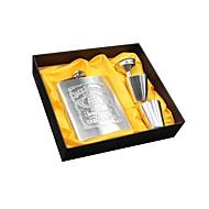 Portable Stainless Steel Flagon Bedste kvalitet / Høj kvalitet Rustfrit Stål Værktøjssæt