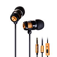Alloy bass headphone ear headphone wire with wheat DT-202