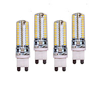 10W G9 LED Doppel-Pin Leuchten T 96 SMD 3014 700 lm Warmes Weiß / Kühles Weiß Dekorativ AC 220-240 V 4 Stück