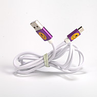 Aluminum Alloy USB2.0 General Cable for Samsung  Galaxy Note 4/S7/S6/S4/S3/S2 and HTC/Huawei/SONY/Millet(1.5M)