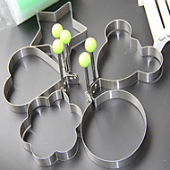 Set of 5 Multi-shaped DIY Fried Eggs Mold