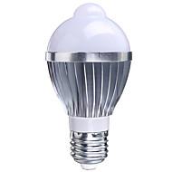 5W B22 / E26/E27 LED Έξυπνες Λάμπες A50 1 LED Υψηλης Ισχύος 400-550 lm RGB Αισθητήρας AC 85-265 V 1 τμχ