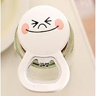 Silicone Doll Cute Cartoon Multifunctional Bottle Opener Fridge Magnet Random ColorPraktisk Grip / Creative Kitchen Gadget /