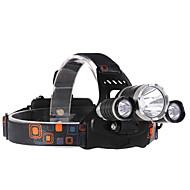 Iluminación Linternas LED LED 2000 lumens Lumens 4.0 Modo Cree T6 18650.0Enfoque Ajustable / A Prueba de Agua / Recargable / Resistente a