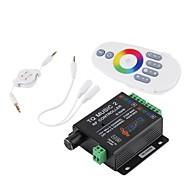 condotto regolatore di musica rgb rf 20m telecomando efficace DC12-24V max 18 bis