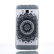Varten Samsung Galaxy kotelo Läpinäkyvä Etui Takakuori Etui Mandala Pehmeä TPU SamsungJ7 / J5 (2016) / J5 / J3 (2016) / Grand Prime /