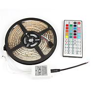 # 5 M 300 2835 SMD RGB Su Geçirmez / Kendinden Yapışkanlı W Esnek LED Şerit Işıklar DC12 V