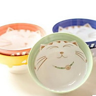 Japanese Ceramics Tableware Suit Plutus Cat Bowl Dish