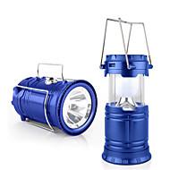 Jiawen outdoor tent intrekbare USB zonne-camping lamp geleid lantaarn licht om te wandelen noodgevallen