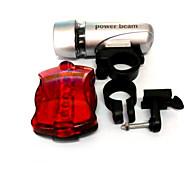 Luce frontale per bici Luce posteriore per bici LED Ciclismo Compatta AAA 50 Lumens Batteria Ciclismo