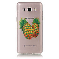 Για Samsung Galaxy Θήκη Θήκες Καλύμματα Διαφανής Ανάγλυφη Πίσω Κάλυμμα tok Φρούτα Μαλακή TPU για SamsungJ7 (2016) J5 (2016) J5 J3 (2016)