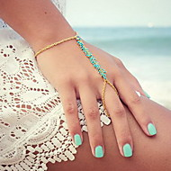 Ring Bracelets 1pc,Golden Bracelet Fashionable Irregular Alloy Jewellery