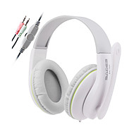 SADES SA701 3.5mm Stereo Headphones PC Gaming Headset with High Sensitivity Microphone Volume Control for Desktop PC