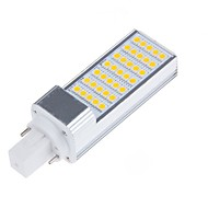 10W E14 / G23 / G24 / E26/E27 Luces LED de Doble Pin T 35 SMD 5050 900-1000 lm Blanco Cálido / Blanco Fresco DecorativaAC 85-265 / AC