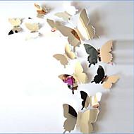 Állatok Falimatrica 3D-s falmatricák / Tükör falimatrica Dekoratív falmatricák / Esküvő-matricák,PVC AnyagMosható / Eltávolítható /
