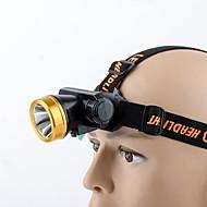 Pandelamper LED - Cykling Nemt at bære 18650 180 Lumen USB Camping/Vandring/Grotte Udforskning Dagligdags Brug Cykling Fiskeri-Promend