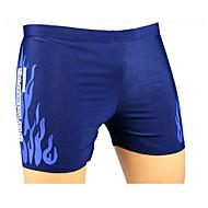 Sports Men's Swimming Trunks Breathable   Red / Blue XL / XXL / XXXL