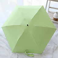 Taitettava sateenvarjo Aurinkoinen ja sateinen Alumiini / Plastic