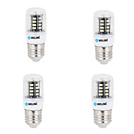 4 pcs E14 / G9 / GU10 / E26/E27 / B22 LED Corn Lights 30 SMD 5733 500 lm Warm White / Cool White AC 220-240 V