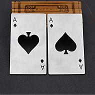 et kreditkort spader dåseåbner kreative stil poker formet rustfrit stål oplukker