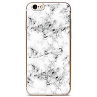 Pour Coque iPhone 6 Coques iPhone 6 Plus Motif Coque Coque Arrière Coque Marbre Flexible PUT pour AppleiPhone 6s Plus/6 Plus iPhone 6s/6