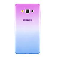 takaisin Ultra-ohut Liukuvärjätty TPU Pehmeä Gradient Tapauksessa kattaa Samsung GalaxyOn 7 / On 5 / J7 (2016) / J7 / J5 (2016) / J5 / J3
