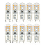 10 pcs YWXLight Dimmable 4W G9 LED Bi-pin Lights T 14 SMD 2835 300-400 lm Warm White / Cool White (AC 220V / AC 110V)
