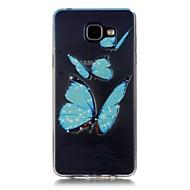 Για Samsung Galaxy Θήκη Διαφανής Other tok Πίσω Κάλυμμα tok Λουλούδι Μαλακή TPU για Samsung A5(2016) A3(2016)