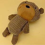 고양이 장난감 강아지 장난감 반려동물 장난감 플러시 장난감 소리 장난감 찍찍 소리를 내다 옐로우 브라운