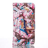 Mert Samsung Galaxy S7 Edge Pénztárca / Kártyatartó / Állvánnyal Case Teljes védelem Case Cica Puha Műbőr SamsungS7 edge / S6 / S5 Mini /