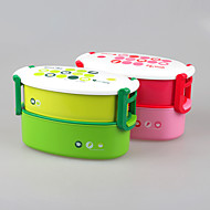 Dinner Set Double Layer Container Bento Lunch Box for Kids