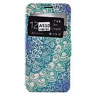 Varten Samsung Galaxy kotelo Korttikotelo / Iskunkestävä / Pölynkestävä / Tuella Etui Kokonaan peittävä Etui Mandala Pehmeä Tekonahka