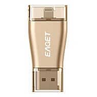 Eaget relâmpago mini-carro i50 32g USB3.0 / OTG de flash u disco para iPhones, iPads e mac / pcs