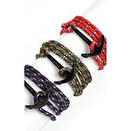Bransoletki Bransoletki z breloczkami / Bransoletki Wrap Stop / Nylon Line Shape / Kotwica Korygujący Codzienny / Casual / Sport Biżuteria