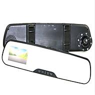 Allwinner Full HD 1920 x 1080 Autó DVR 4.3 hüvelyk Képernyő Dash Cam