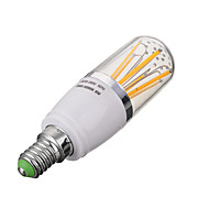 E14 6W 600lm 6 x COB Warm White / Cool White LED Filament Bulb (AC 85-265 V)