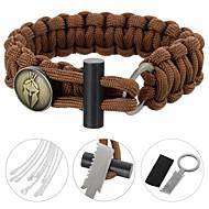 braccialetto di sopravvivenza / Multitools Ciclismo / Escursionismo / Campeggio / Viaggi / All'aperto / Al CopertoEmergenza / Militare /