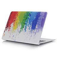 Omsluttende etuier Plastik Tilfælde dække for 30,5cm 11.6 tommer (ca. 29cm) 13.3 '' 15.4 ''MacBook Pro 15-tommer MacBook Air 13-tommer