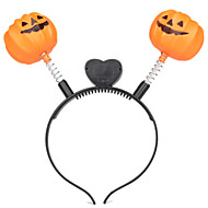 1PC Halloween Pumpkin Head Hoop Is Decorated Pumpkin Toys Night Light