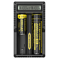 SunWalk 18650,18490,18350,17670 17500,16340,14500,10440 ארונות סוללה 2 Micro USB DC 5V