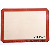 Mata silikonowa do pieczenia pół rozmiaru 42 * 29.5cm silpat nieprzywierającą blachy do pieczenia silikon